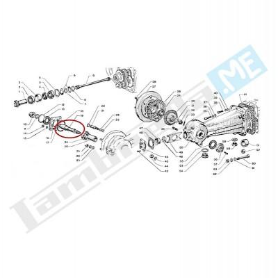 Albero trasmissione ruota posteriore