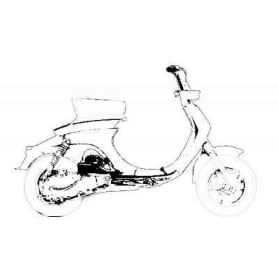 Kit revisione forcella per Lambretta 125/150 LI 1°/2° serie