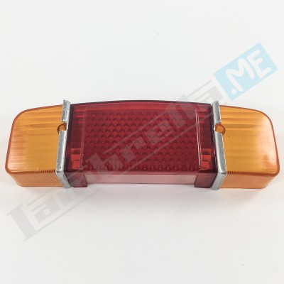 Catadiottro posteriore a 2 colori