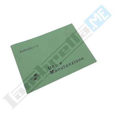 Libretto Uso e Manutenzione 125 LD '56 derivata
