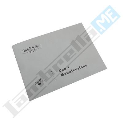 Libretto Uso e Manutenzione 125 LD '57