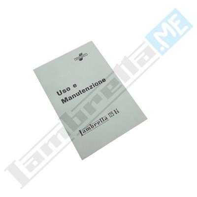 Libretto Uso e Manutenzione 125 LI I serie