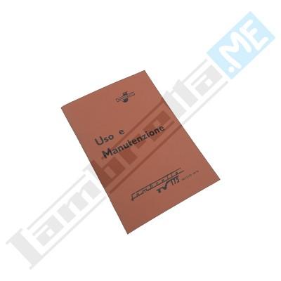 Libretto Uso e Manutenzione 175 TV II serie