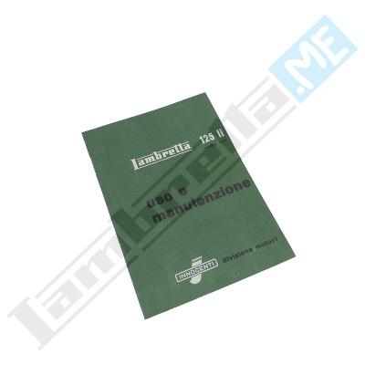 Libretto Uso e Manutenzione 125 LI II serie