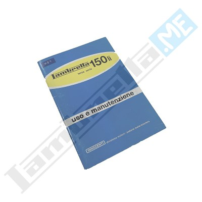 Libretto Uso e Manutenzione 150 LI III serie