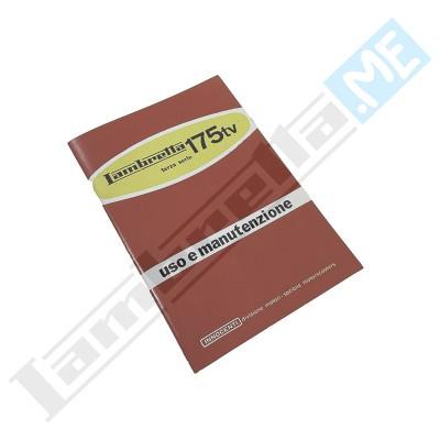 Libretto Uso e Manutenzione 175 TV III serie