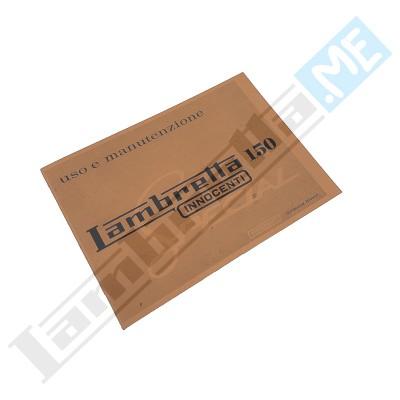Libretto Uso e Manutenzione 150 Special