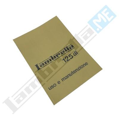 Libretto Uso e Manutenzione 125 DL