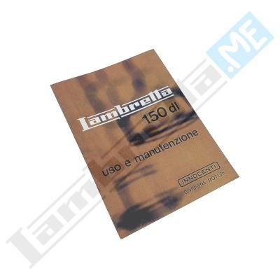 Libretto Uso e Manutenzione 150 DL