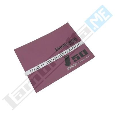Libretto Uso e Manutenzione J50