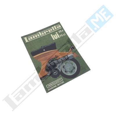 Libretto Uso e Manutenzione 75 Lui S-SL