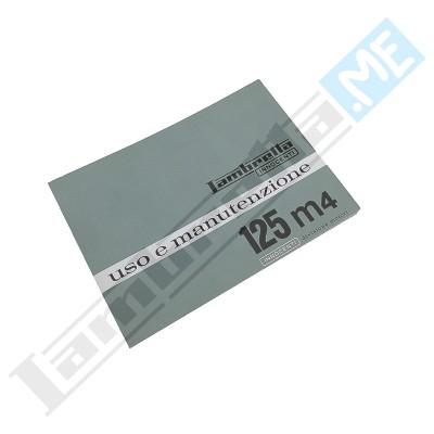 Libretto Uso e Manutenzione J 125 4m