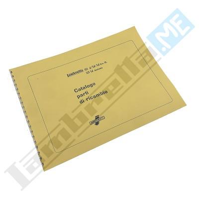 Catalogo Parti di Ricambio 150 D-LD - 125/150 LD '56 derivata