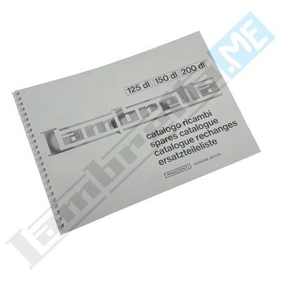 Catalogo Parti di Ricambio 125-150-200 DL