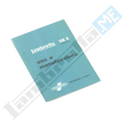Libretto Uso e Manutenzione 150 LI II serie