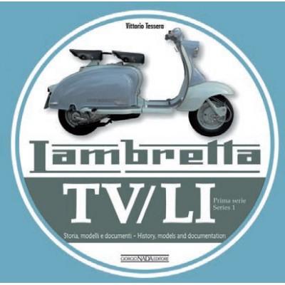 Libro Lambretta LI-TV 1° serie - 120 pagine