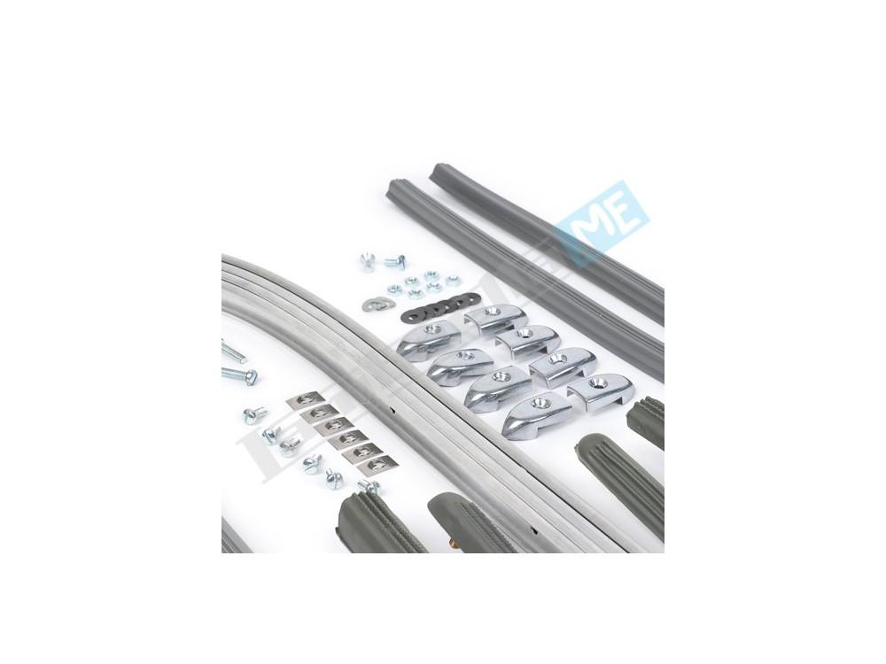 Kit completo listelli pedana per Lambretta 125/150 LI 3° serie - 175 TV 3°