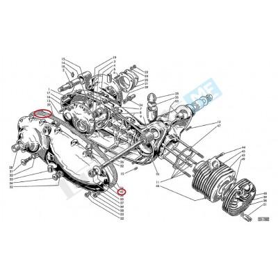 Guarnizione coperchio carter motore