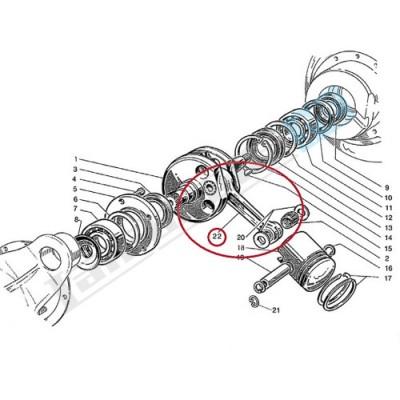 Biella completa LI/S/SX/DL 125/150cc