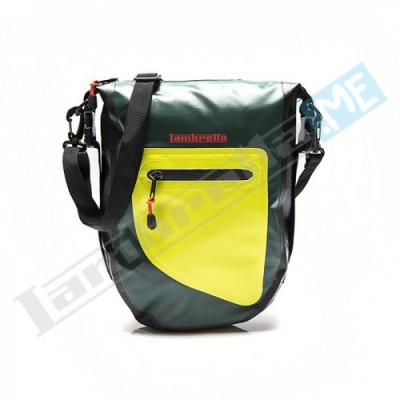 BORSELLO LAMBRETTA WATERPROOF - VERDE/GIALLO