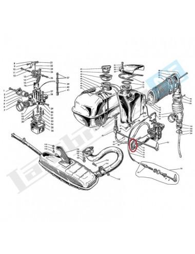 Guarnizione cilindro carburatore