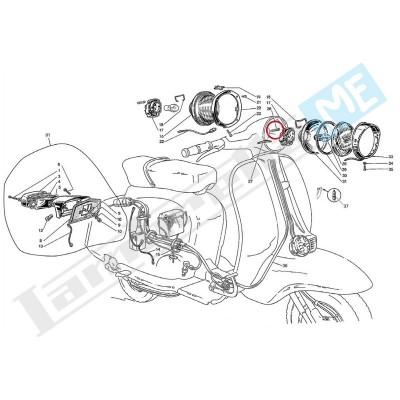 Lampadina siluro fanalino anteriore/posteriore 5W 6V