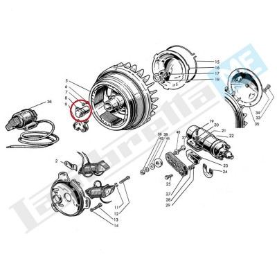 Condensatore Ducati 4 poli