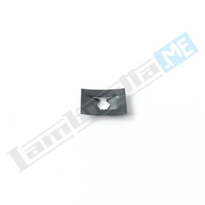 Dado elastico (piastrina) 4mm per listelli pedana e vari