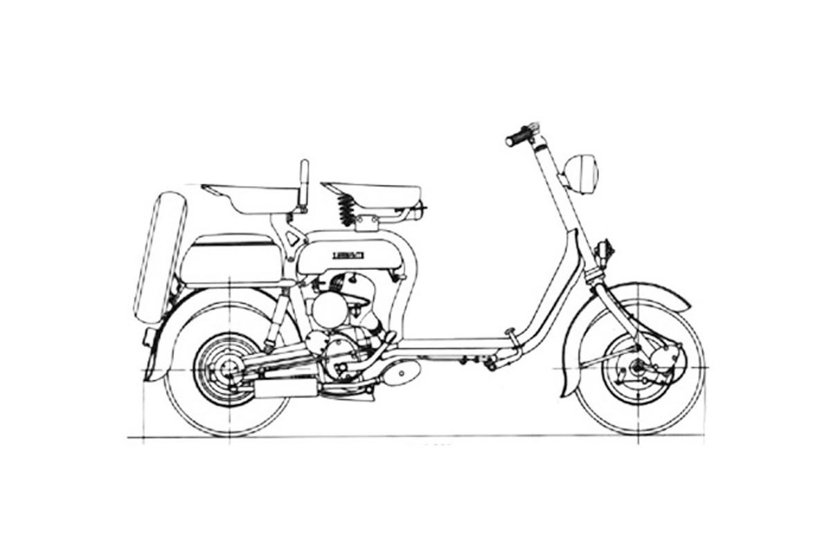 D 125 - prima versione 1951-1952
