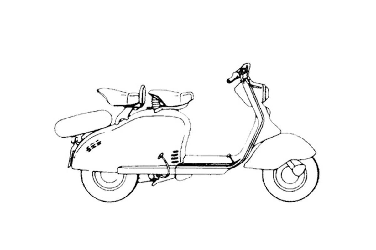 LD 125 - 1957 prima versione