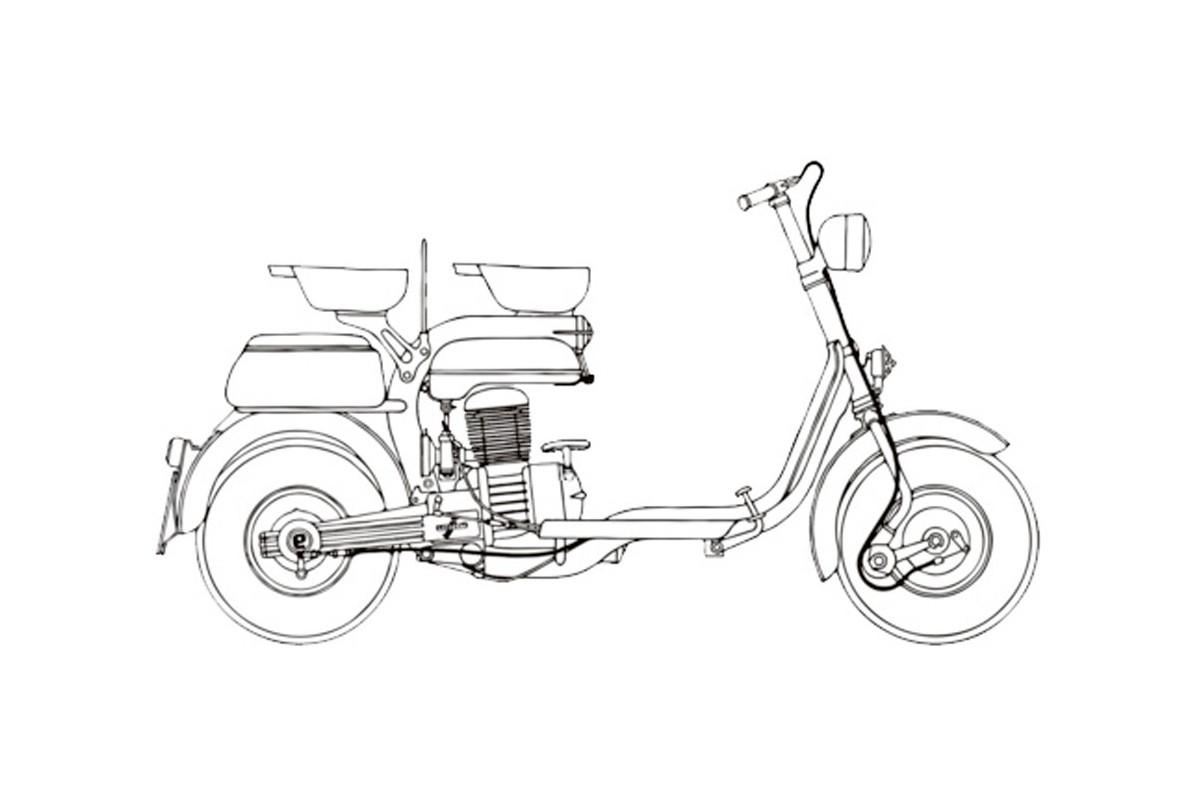 E 125 - prima versione