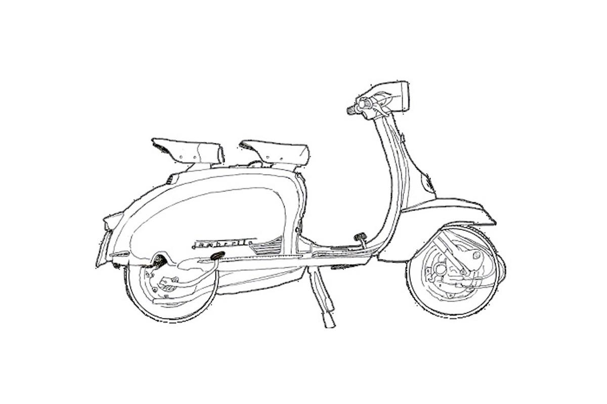 LI 125 II serie - prima versione