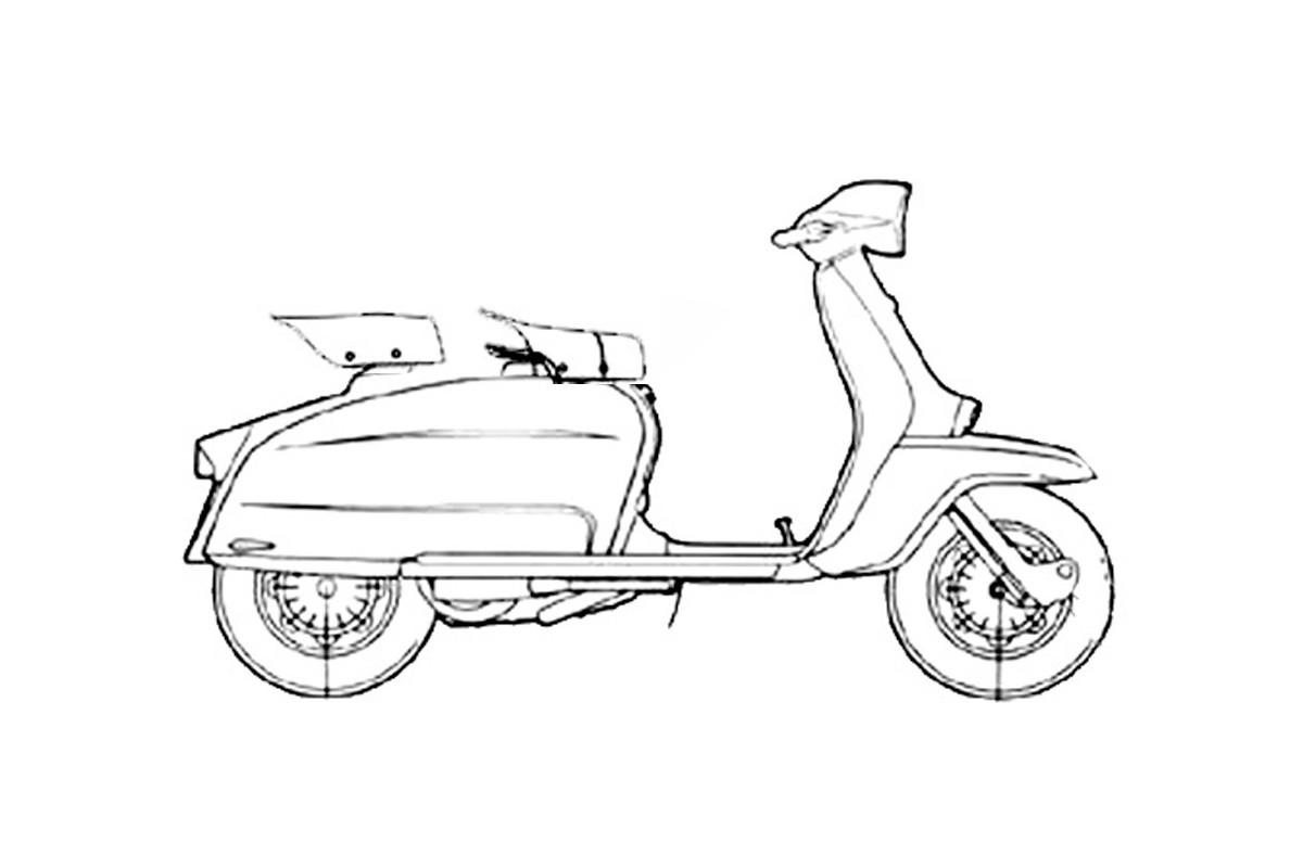 LI 125 III serie - prima versione