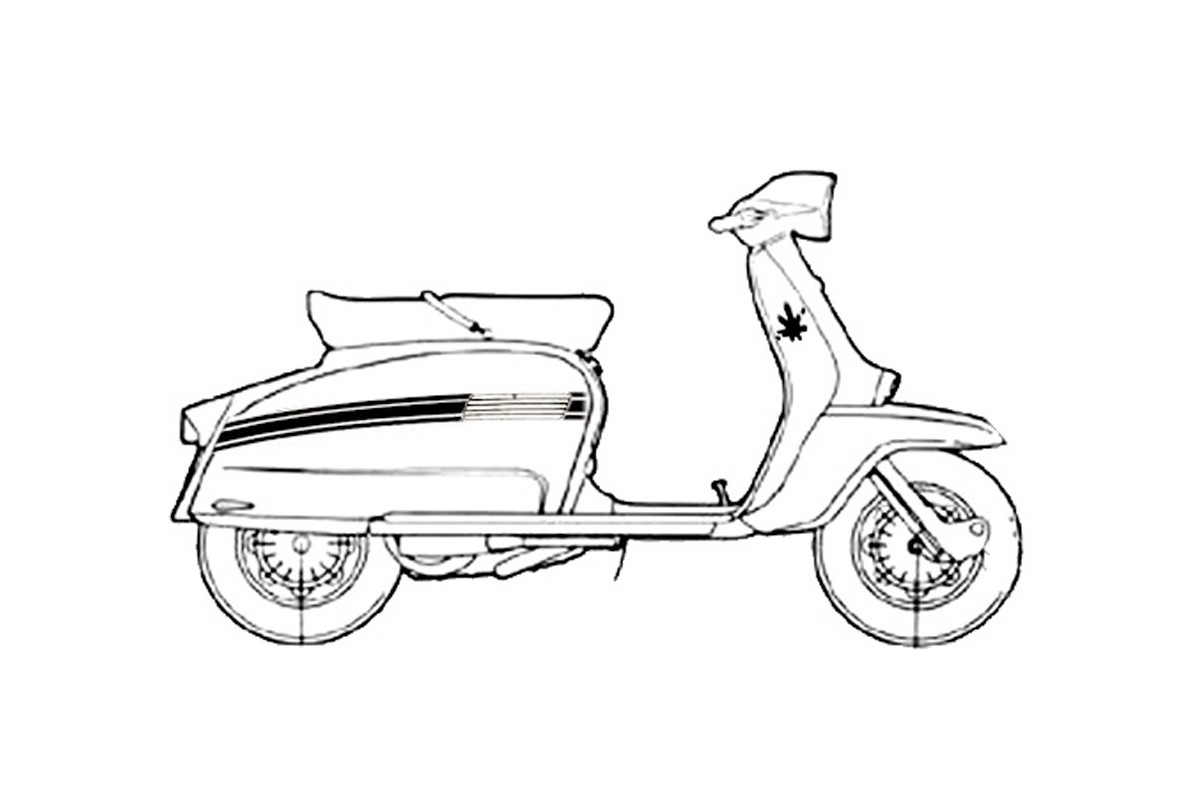 DL 125 - prima versione