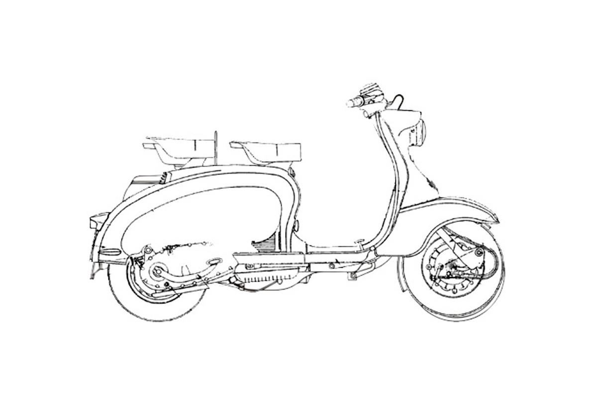 LI 150 I serie - prima versione
