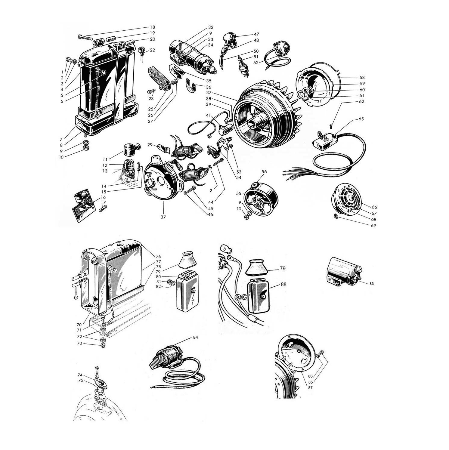 Apparecchiature Elettriche e Volano Magnete(Tav.11)