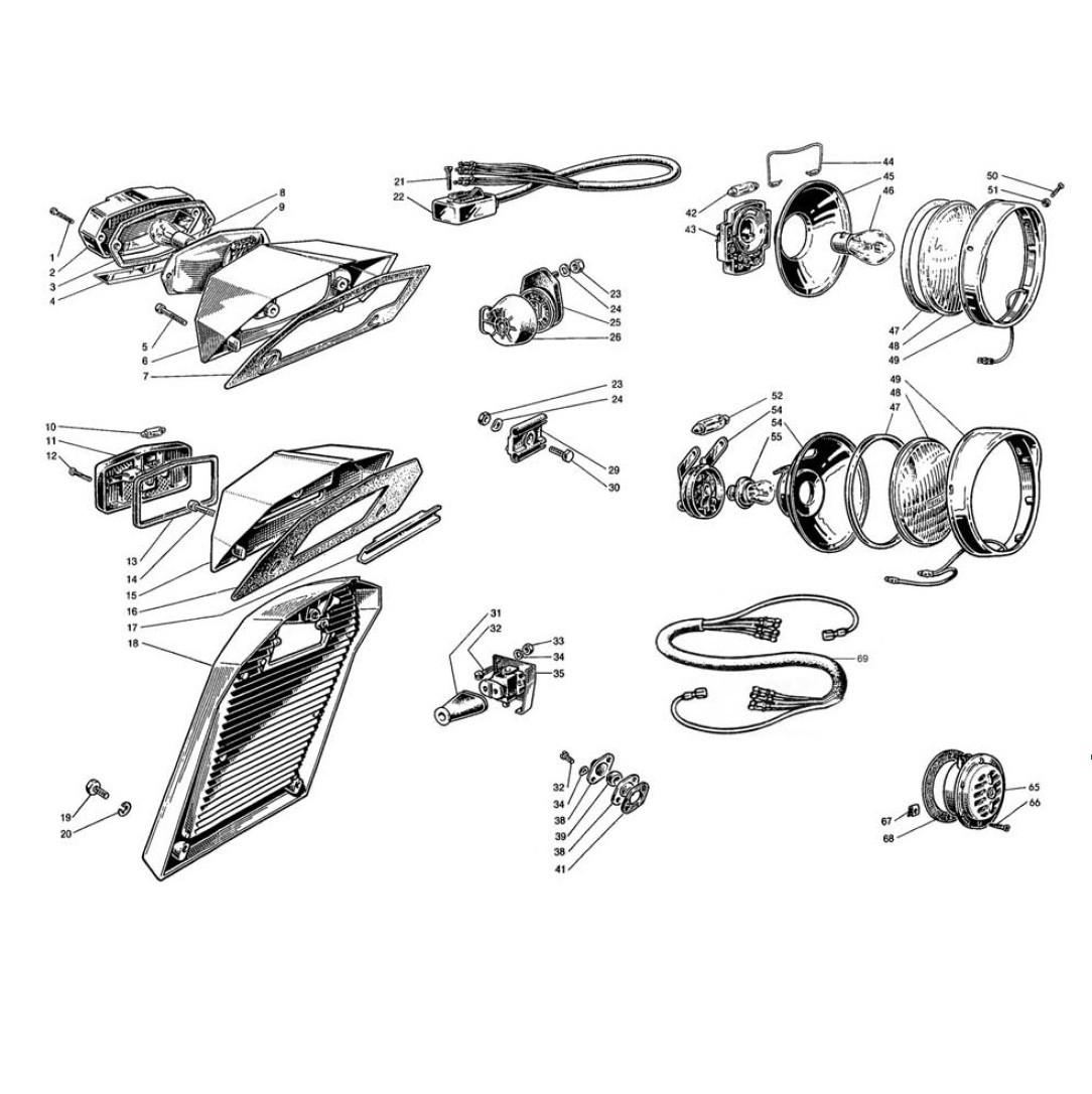 Apparecchiature Elettriche e Fanaleria (Tav.11)