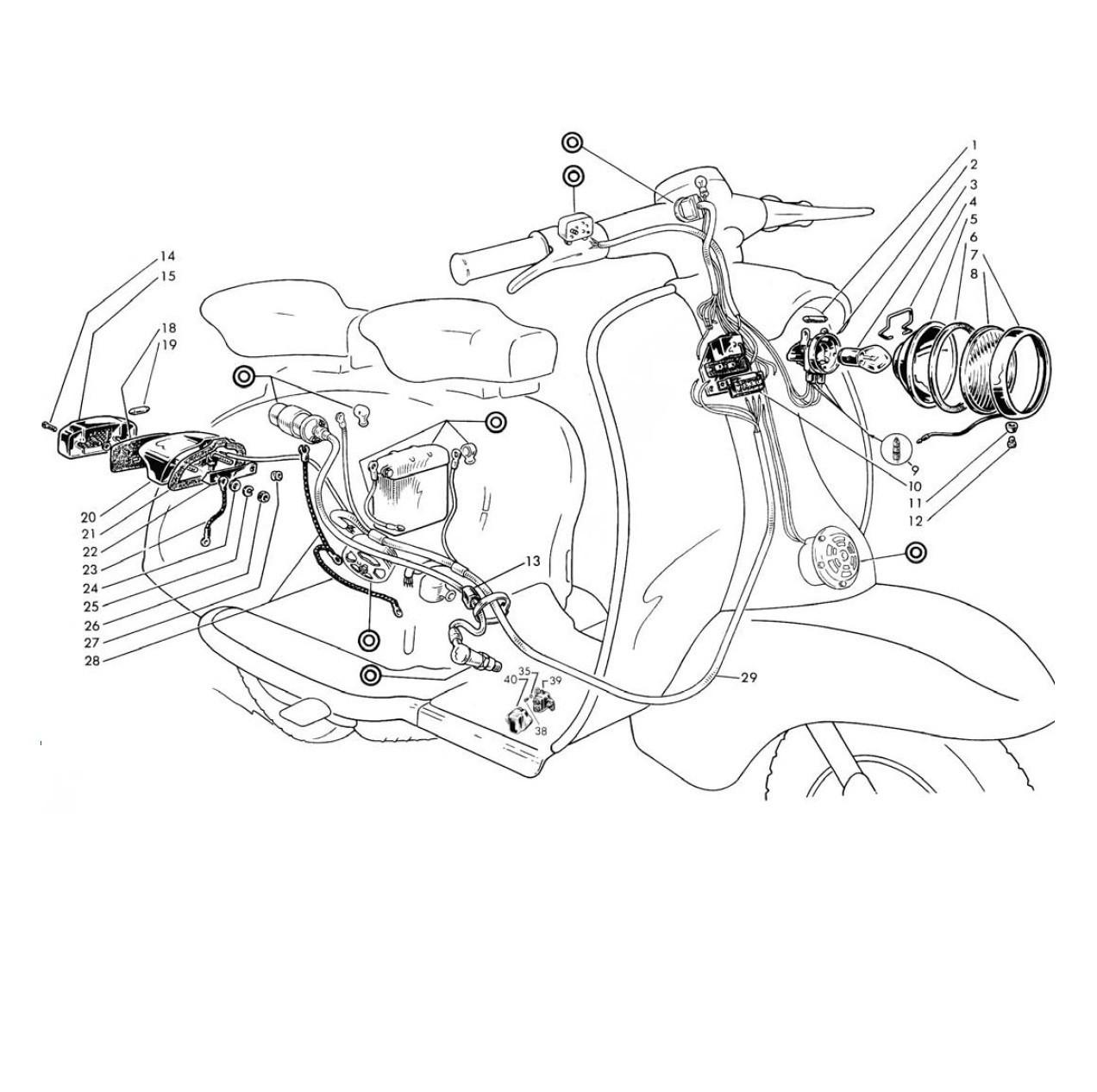 Impianto Elettrico e Fanaleria (Tav.10)