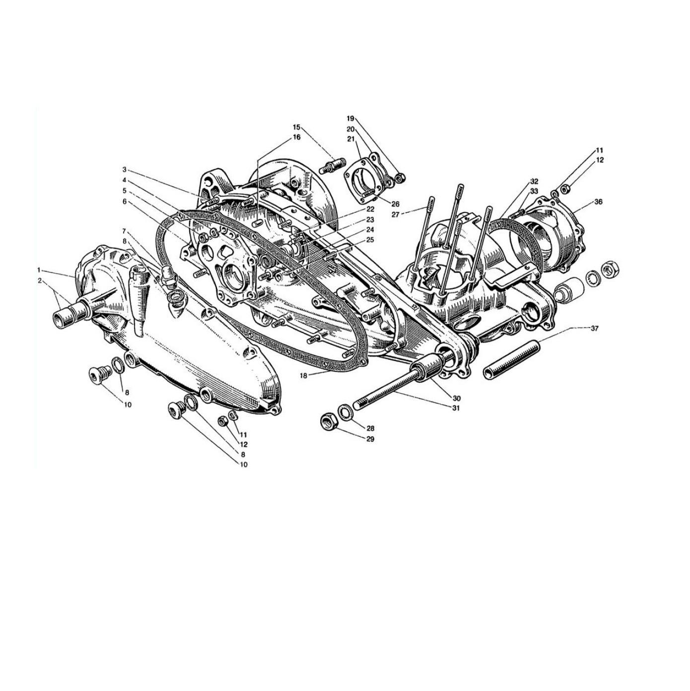 Carter Motore (Tav.1)