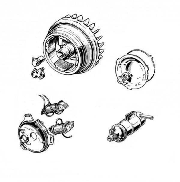 ELETTRICITA' - Volano, magnete
