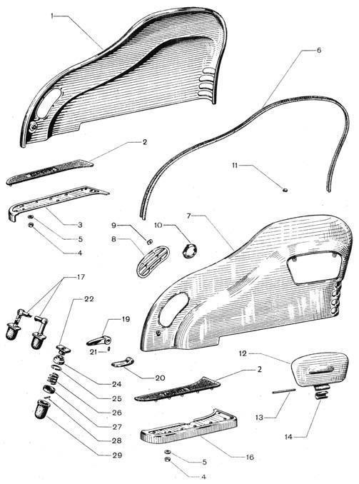 Fiancata e pedane laterali (Tav.7/c)