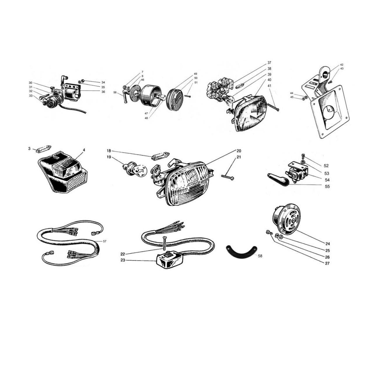 Apparecchiature Elettriche e Fanaleria (Tav.10)