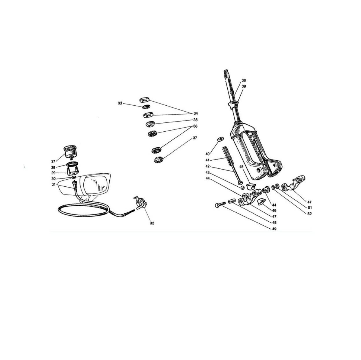 Forcella e Tachimetro (Tav.8)