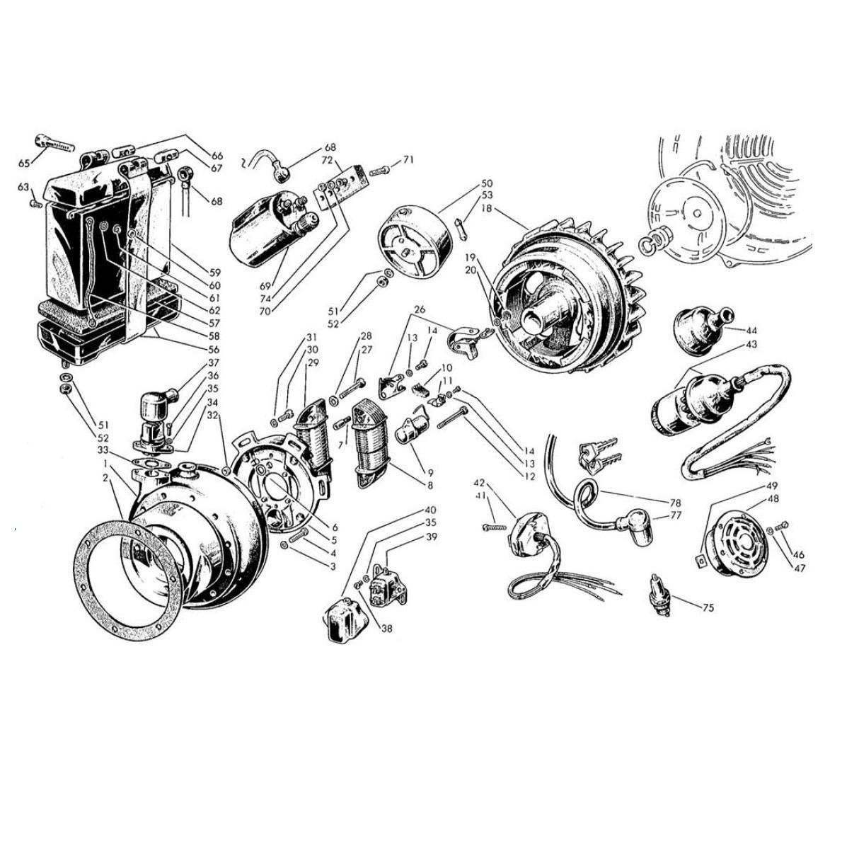 Volano e Apparecchiature Elettriche (Tav.11)
