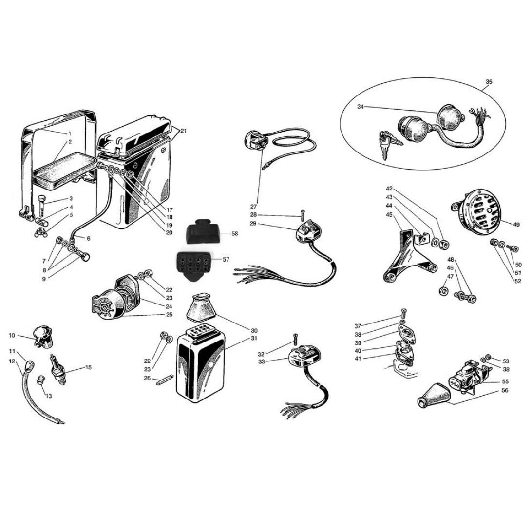 Apparecchiature Elettriche e Batteria (Tav.12)