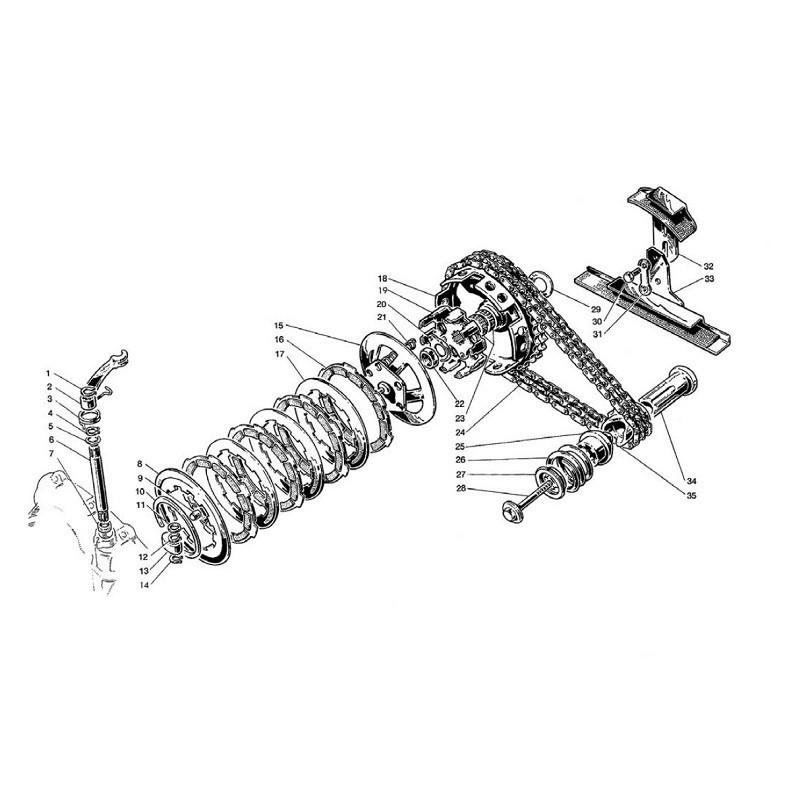 Frizione e Trasmissione (Tav.3)