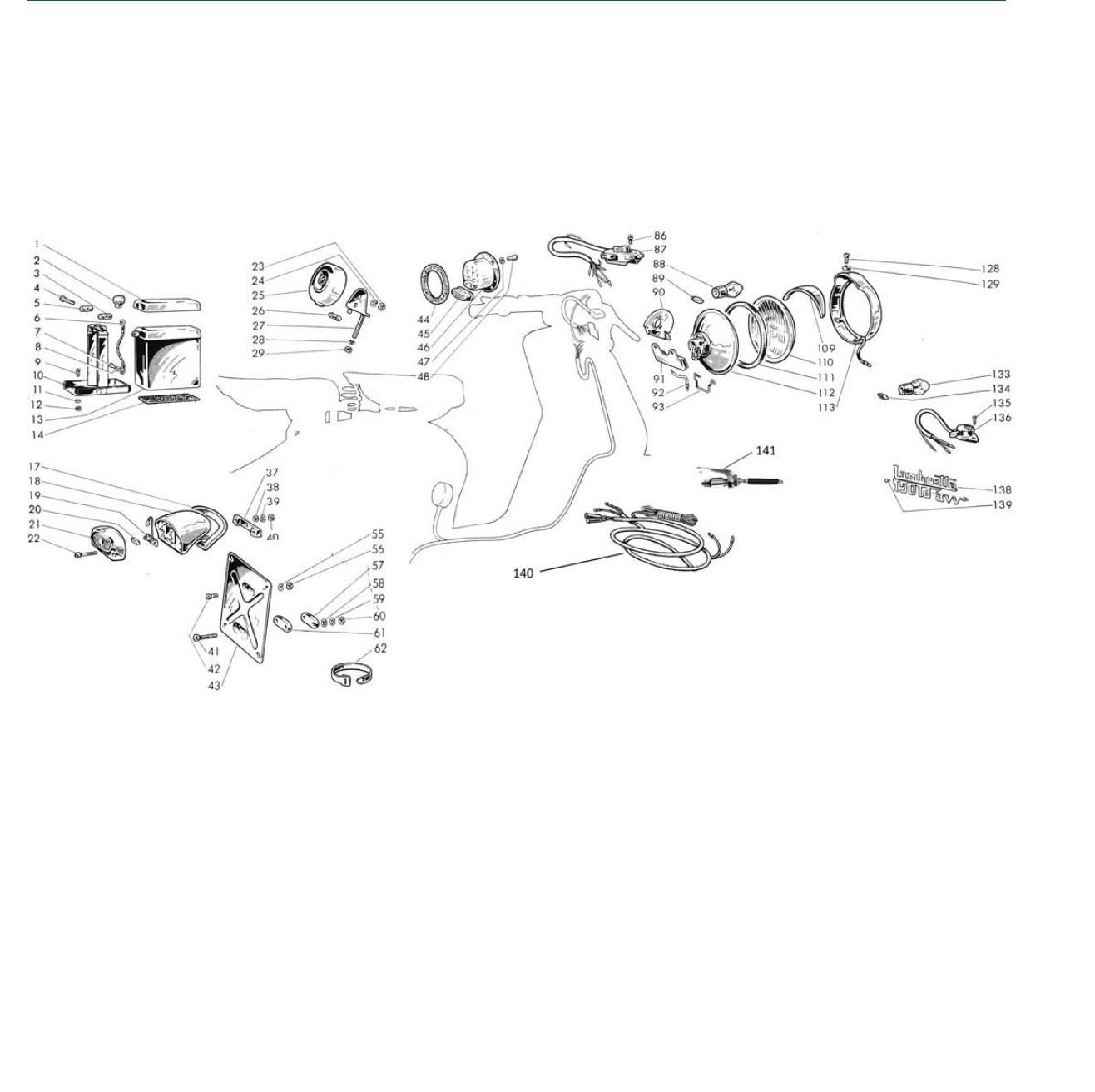Impianto Elettrico (LD '57, Avv. El. '57) (Tav.16)